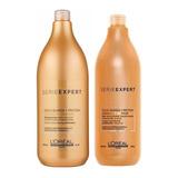 Combo Shampoo 1500 + Acond Absolut Repair Loreal 1000ml