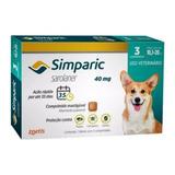 Promoção Simparic 40mg 10 A 20kg C/3 Comprimidos