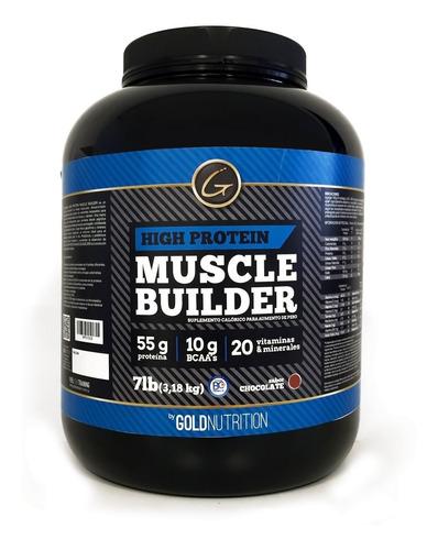 Muscle Builder 7 Lb - Gold Nutrition - Ganador Hiperproteico