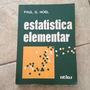 Estatística Elementar Paul Gerhard Hoel Original