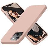 Funda P/iPhone 13 Cordking 6.1inch/ultradelgada/pinksand