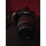 Cámara Digital Profesional Nikon D3100 + Batería + Estuche