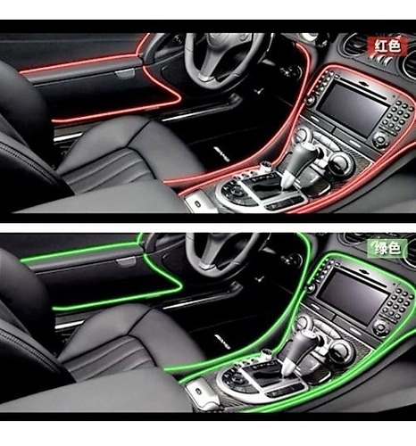 Moldura Vira A Presion Autos Tuning Universal Colores 4 Mts