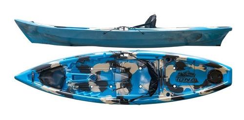Kayak Hidro2eko Tuna Std Camuflado Azul - Kayaks Feelfree