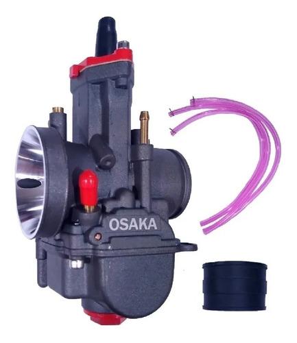 Carburador Cortina Plana Competicion 28 30 32 34 Osaka Gaona