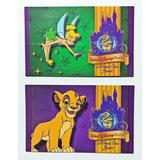 Lote 2 Antiguas Entradas Tickets 25º Aniversario Disney 1997