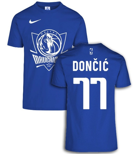 Camiseta Dallas Mavericks Nba Doncic #77