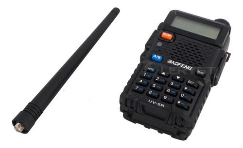 Kit Rádio Ht Digital Policia Dual Band Baofeng 128 Canais