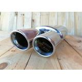 Silenciador Deportivo Inox Woolrich Compacto Tipo Magnaflow