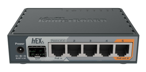 Router Mikrotik Routerboard Hex S Rb760igs Gris 100v/240v