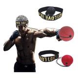 Entrenador De Boxeo Pelota Rapida + Vincha Reflejos Reaccion