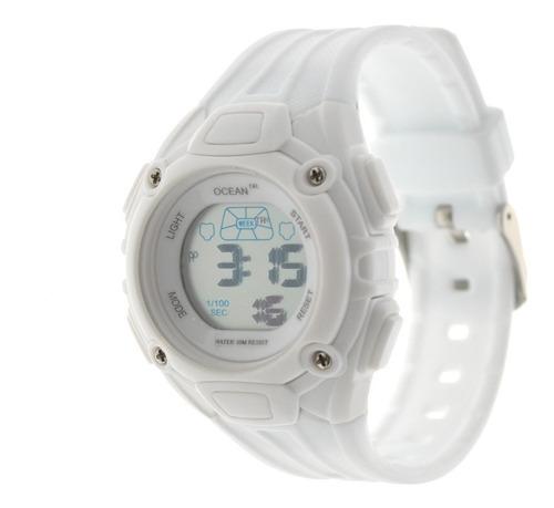 Reloj Mujer Digital Ocean Dr. Deportivo Sumergible Dig151