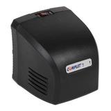 Regulador De Voltaje Complet Rplus Erv-6-001 1300va Entrada De 100v/140v Ca Y Salida De 120v Ca Negro
