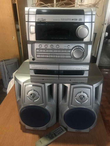Equipo De Musica Sanyo Dc-xms80