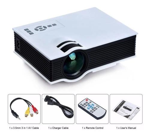 Mini Proyector Video Beam Unic Uc40 Home Led Hdmi Vga 800 Lu