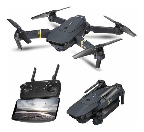 Dron Plegable Con Cámara Angular Hd 720p 2,4 Ghz Wifi 100mts