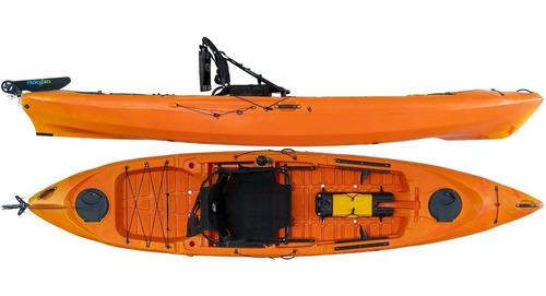 Kayak Hidro2eko Caiman 125 Pro Naranja - Kayaks Feelfree