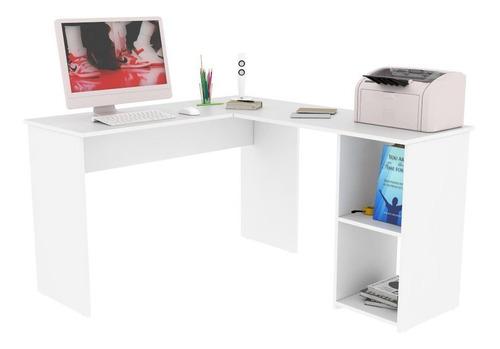 Escritorio Miletto En L Para Home Office