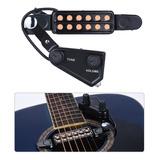 Pastilla Magnética Para Guitarra Acústica C/12 Perforaciones