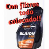 Cambio De Aceite Vw Gol Trend Elaion F30+ Filtros Colocados