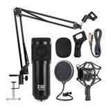 Kit Profesional Microfono Condensador Grabación Estudio,ktv