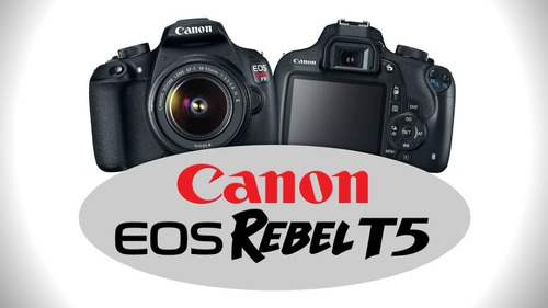 Camara Profecional Canon Rebel T5 Poco Uso. Disparos 4489