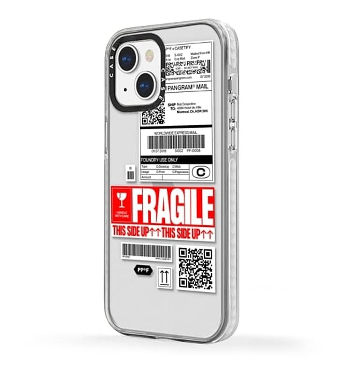 FUNDA TICKET FRAGILE IPHONE 13