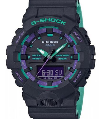 Relógio Casio G-shock Masculino Preto Ga-800bl-1adr