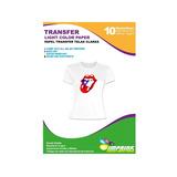 Papel Transfer Telas Claras A4/40 Hojas. Envio Incluido