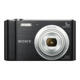 Sony Dsc-w800 Compacta Color  Negro