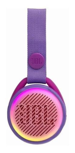 Parlante Bluetooth Jbl Jr Pop Bluetooth Sumergible Violeta