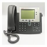 Telefone Cisco 7942g Cp Voip Poe Sem Fonte Garantia Nf Top!