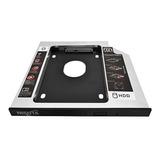 Caddy Disk Adaptador Notebook 2do Disco Sata Hdd 9,5mm