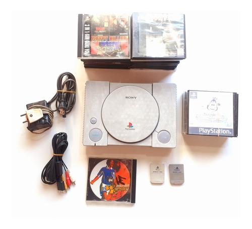 Consola Ps1 + Accesorios Y Juegos . Leer Descripcion
