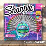 Marcadores Sharpie Ruleta X 30 Colores - Nueva!!