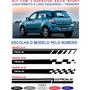 Adesivo Lateral Chevrolet Agile  Ls Lt Ltz Spot Kit  Gm Original
