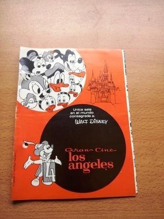 Programa Gran Cine Los Angeles Festival Walt Disney