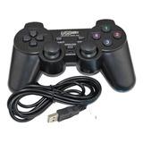 Joystick Control Alámbrico Usb Para Pc Con Dualshock