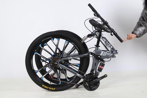 Bicicleta Montañera Plegable 26  Daurada / Shimano En Stock