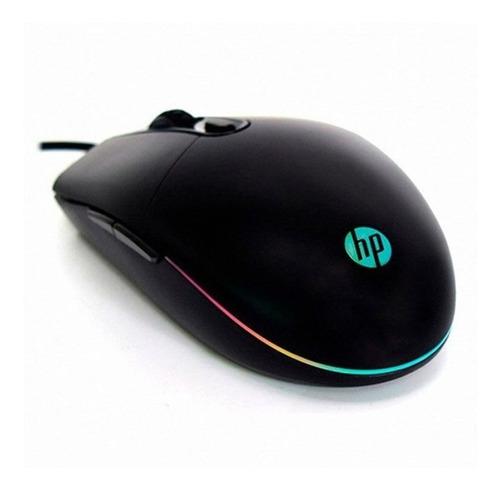 Mouse Gamer Usb Hp M260 Rgb 6400dpi - Revogames