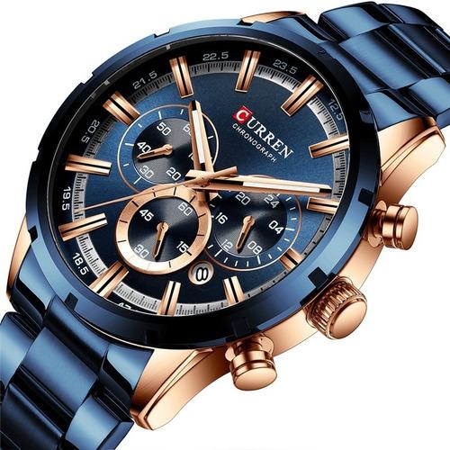 Reloj De Hombre Nuevo Diseño  Cronograph Fs347