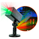 Laser Led B Exterior Luz Verde Rojo Control Efectos Navidad