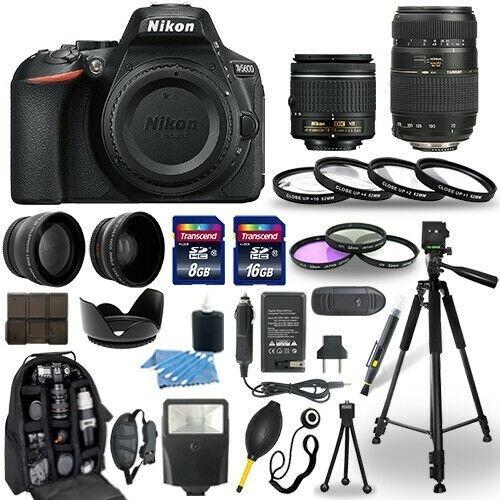 Nikon D5600 18-55mm Vr + 70-300mm (30 Pcs)