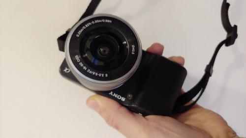 Sony Nex 3 Camara Impecable Como Nueva  Lente 16-50mm