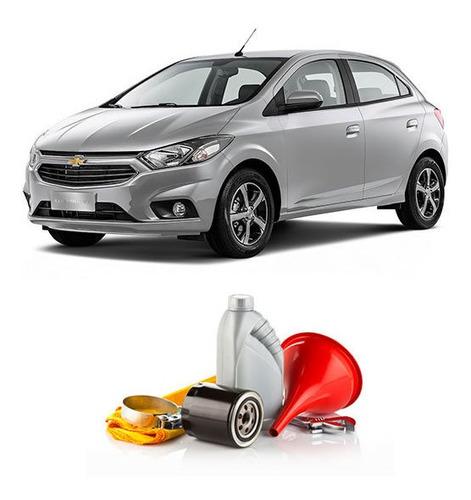 Cambio Filtro Y Aceite P/ Chevrolet Onix 1.4