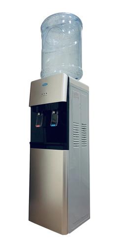Dispenser De Agua Frio Calor Black/silver Para Bidon!