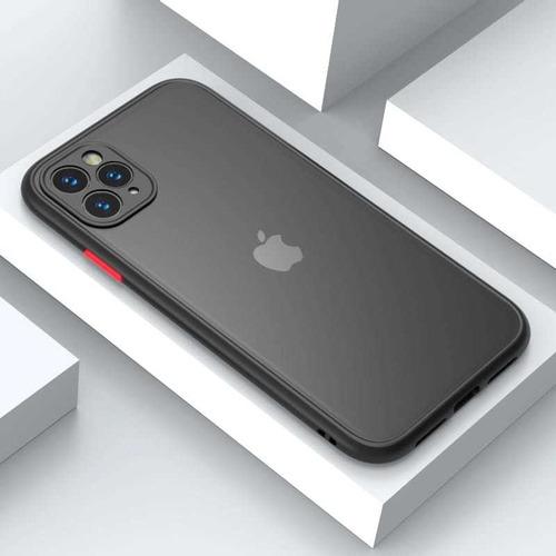 Funda Premium, Uso Rudo, Mate/transparente. Modelos iPhone