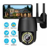 Cámara De Seguridad Full Hd Wifi 38 Led 1080p Con Alarma