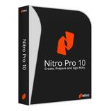 Nitro Pro Pdf 10 Editor Y Convertidor De Documentos Original