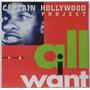 Cd Lacrado Importado Captain Hollywood Project All I Want Original